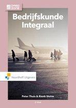 Boek cover Bedrijfskunde integraal van Peter Thuis (Hardcover)
