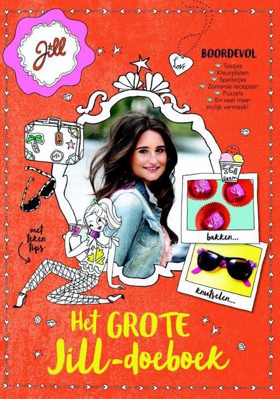 Boek cover Jill  -   Het grote Jill-doeboek van Jill Schirnhofer
