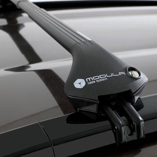 Modula dakdragers Bmw X3 5 deurs SUV vanaf 2018 met geintegreerde dakrails
