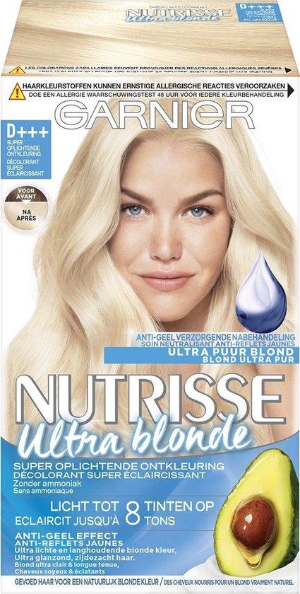 Garnier Nutrisse Ultra Blond Haarverf - D+++ Super Oplichtende Ontkleuring