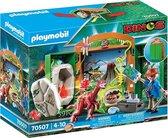 PLAYMOBIL Speelbox 'Dino-onderzoeker' - 70507