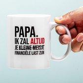 Financiële Last Vaderdag Mok
