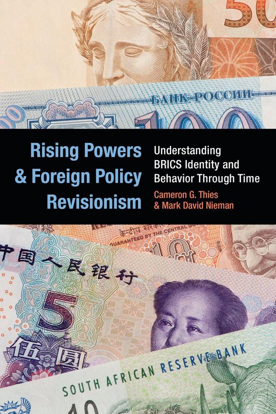 Boek cover Rising Powers and Foreign Policy Revisionism van Cameron G Thies (Onbekend)