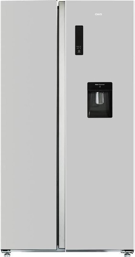 Koelkast: CHiQ FSS559NEI32D - Amerikaanse Koelkast - 559L (203 + 356) - no frost - RVS, van het merk chiq