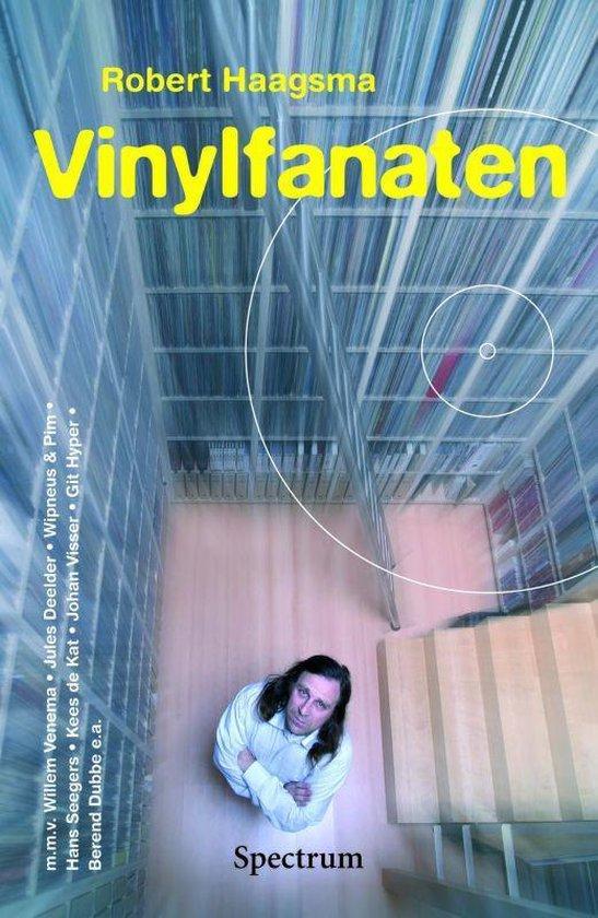 Boek cover Vinylfanaten van Robert Haagsma (Paperback)