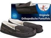 Lucovitaal Orthopedische Pantoffels - Antraciet - Maat 39-40