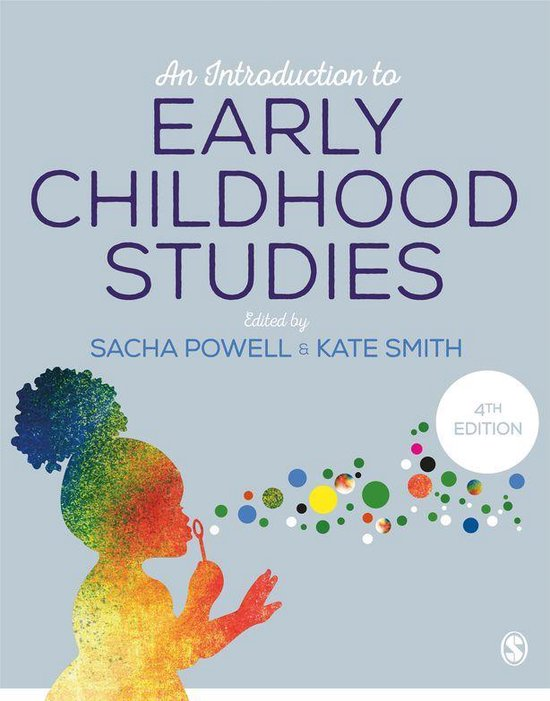 Omslag van An Introduction to Early Childhood Studies