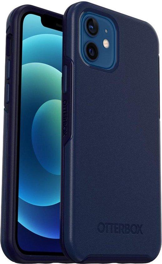OtterBox Symmetry Plus hoesje met MagSafe voor Apple iPhone 12 / iPhone 12 Pro - Blauw