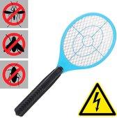 relaxdays elektrische vliegenmepper - tegen muggen   vliegen - vliegen mepper elektrisch blauw