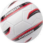 Feyenoord Minibal wit/rood/zwart