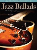 Boek cover Jazz Ballads (Songbook) van Jeff Arnold