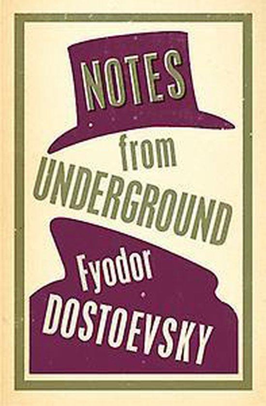Boek cover Notes from Underground van Fyodor Dostoyevsky (Paperback)