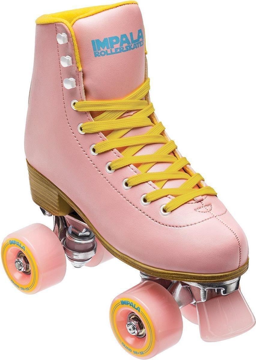 Impala Quad rolschaatsen pink / yellow
