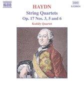 Kodaly Quartet - Haydn: String Quartets Op.17