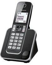 Draadloze telefoon Panasonic KX-TGD310SPB Zwart