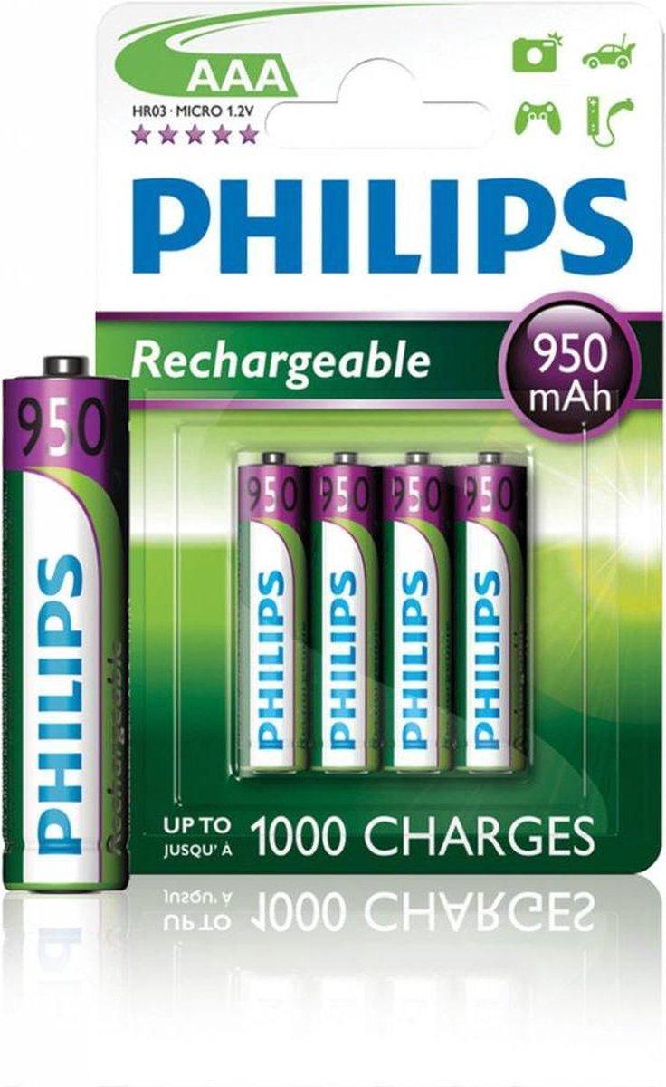Philips AAA Oplaadbare Batterijen