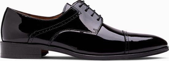 Paulo Bellini Dress Shoe Monza Black Lack Leather