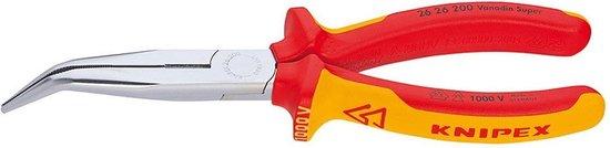 Knipex 2626200 gebogen Telefoontang - 200mm