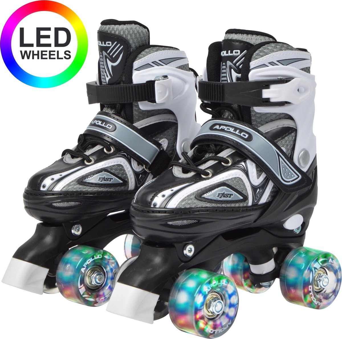 Apollo LED Rolschaatsen Super Quads X-Pro