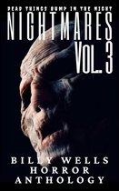 Omslag Nightmares- Volume 3- A Billy Wells Horror Anthology