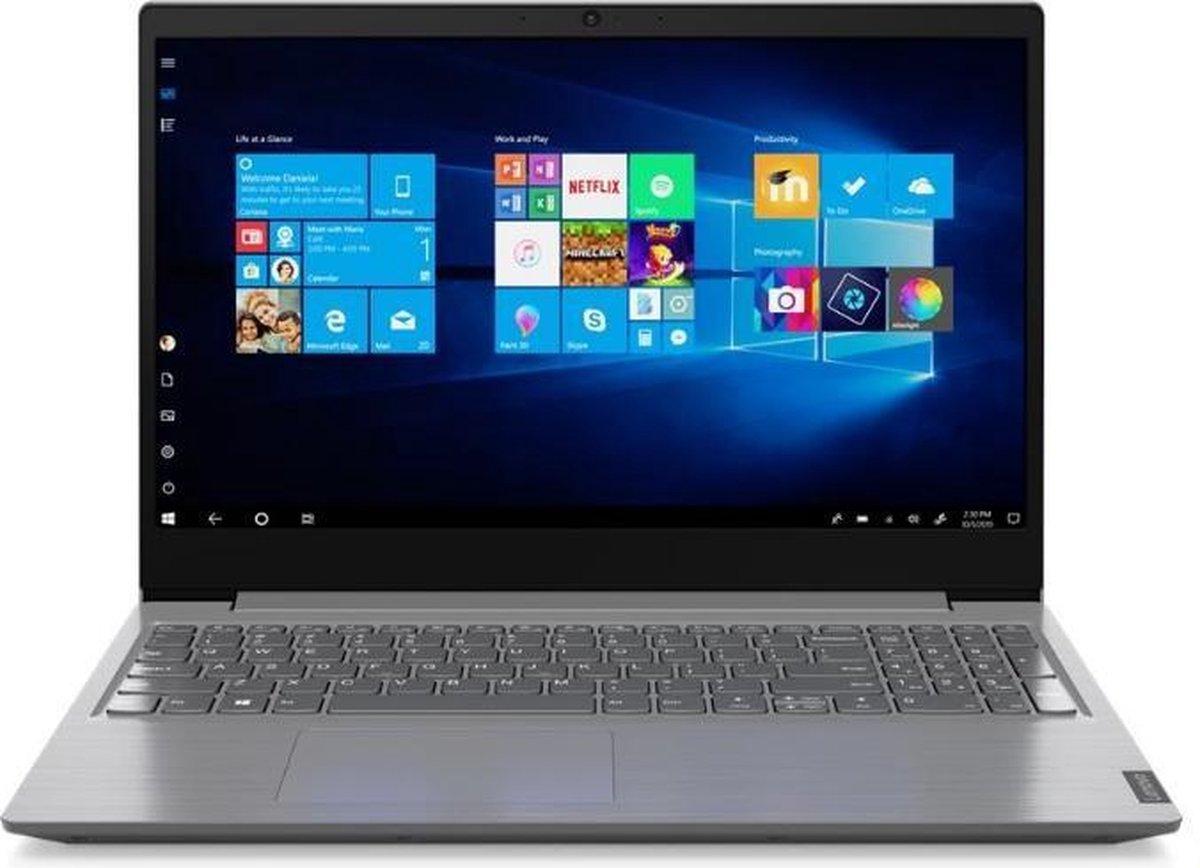 "Lenovo V V15 DDR4-SDRAM Notebook 39,6 cm (15.6"") 1920 x 1080 Pixels Intel® Celeron® 4 GB 256 GB SSD Wi-Fi 5 (802.11ac) Windows 10 Home Grijs"