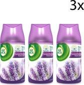 Air Wick Freshmatic Automatische Spray Luchtverfrisser - Paarse Lavendel - Navulling 250ml x3