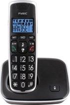 Fysic FX-6000 Big Button Dect Telefoon - Zwart