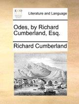 Odes, by Richard Cumberland, Esq