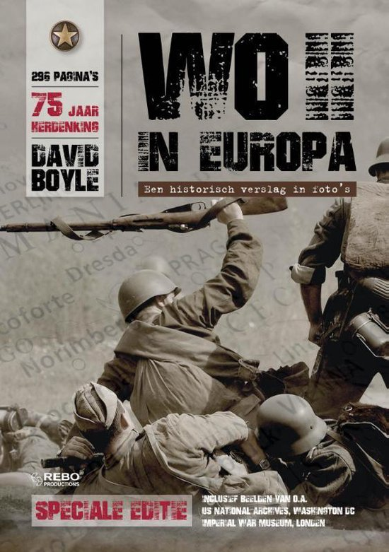 WO II in Europa + - David Boyle |