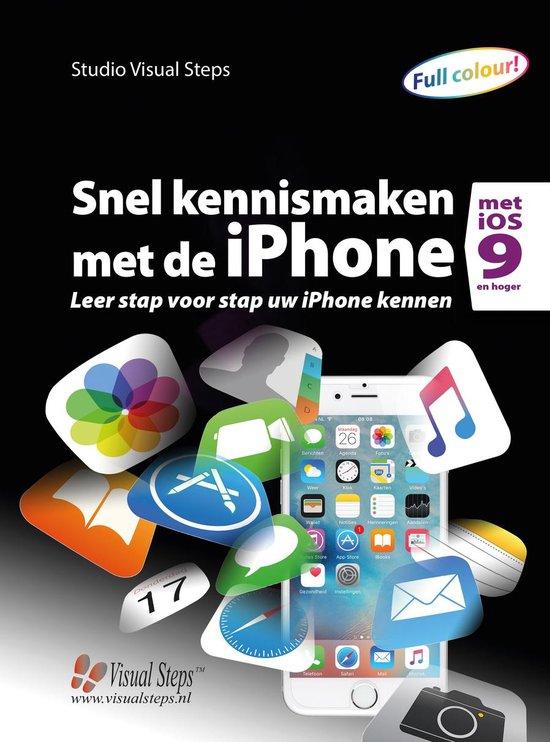 Snel kennismaken met de iPhone met iOS 9 - Studio Visual Steps   Fthsonline.com