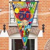 Mega vlag Abraham 90 x 150 cm