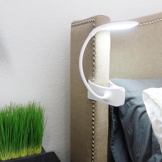 LED oplaadbaar led-leeslampje met klem