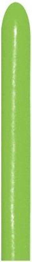 260 - Lime Green - sempertex - 50 Stuks - modeleerballon , kindercrea