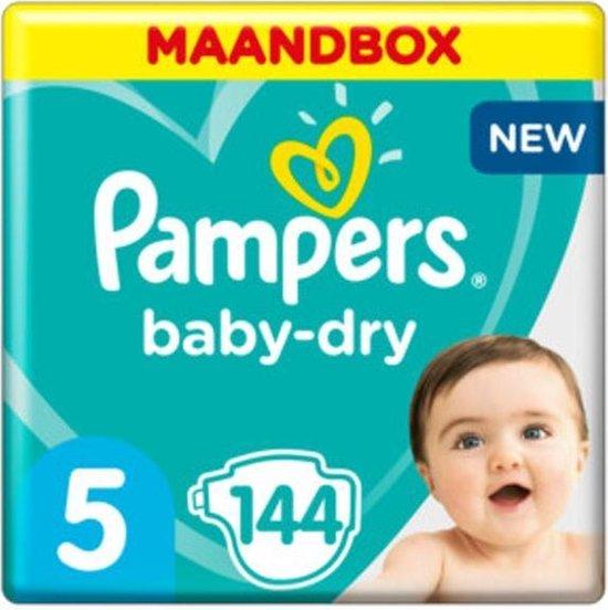Pampers Baby Dry - Maat 5 Maandbox 144 luiers
