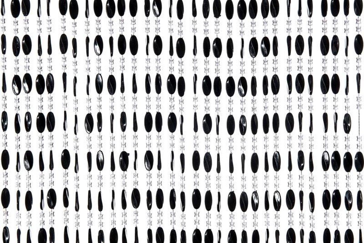 Charlotte vliegengordijn 90x220cm zwart
