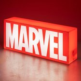 Paladone Marvel Logo Nachtlamp - Icon Light - 3D Lamp - LED Licht - Rood