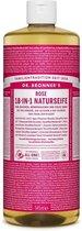 Dr Bronners Liquid Soap Roos 945ml