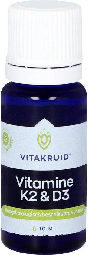 VitaKruid Vitamine D3 & K2 10 ml