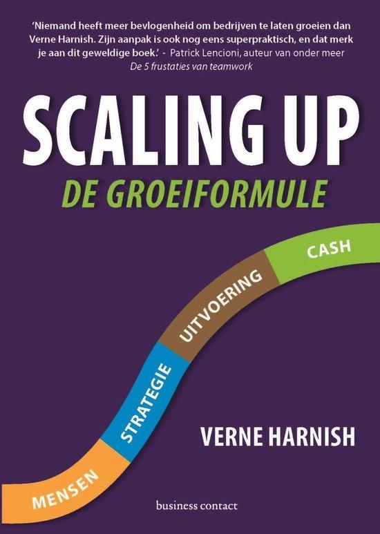 Boek cover Scaling up van Harnish Verne (Onbekend)