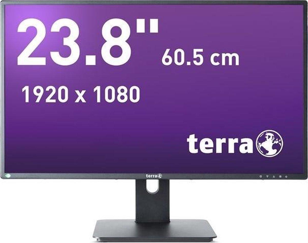 Wortmann AG TERRA LED 2456W PV 60,5 cm (23.8) 1920 x 1080 Pixels Full HD Zwart