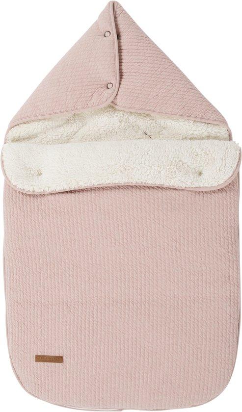 Product: Little Dutch Voetenzak autostoeltje 0+ - pure pink, van het merk Little Dutch