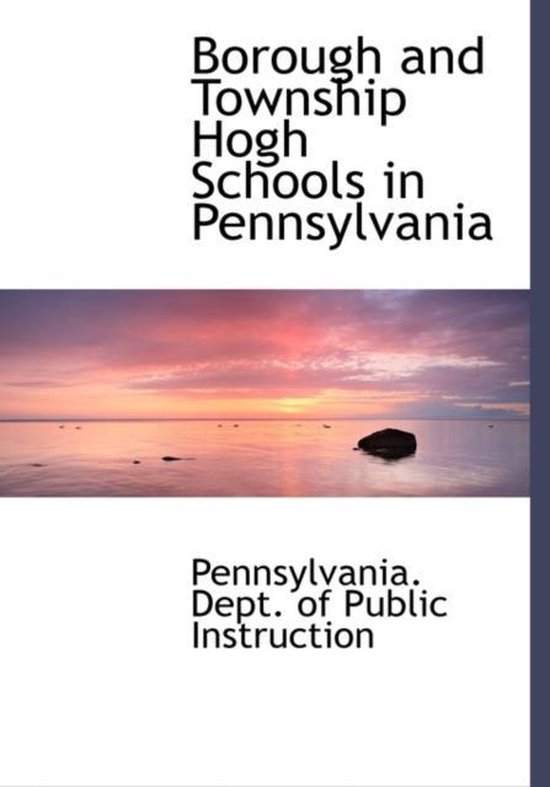 Borough and Township Hogh Schools in Pennsylvania