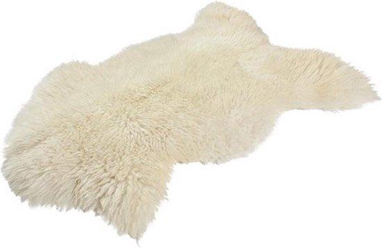 Dyreskinn Schapenvacht wit (70 - 80 cm)