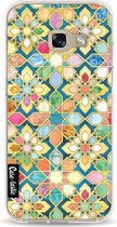 Samsung Galaxy A3 (2017) hoesje Gilded Moroccan Mosaic Tiles Casetastic Smartphone Hoesje softcover case