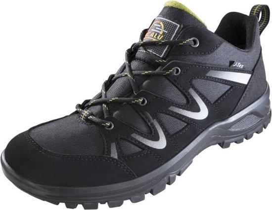 Jacalu Wandelschoenen zwart/grijs waterafstotend maat 45