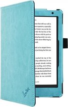 i12Cover - Premium Business Sleepcover voor Kobo Aura h2o Edition 2 - Blauw