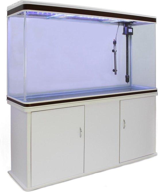 Aquarium & Meubel set 300L - 120x70x39 cm - Wit