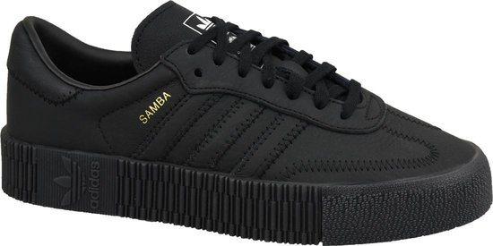bol.com | adidas Sambarose W B37067, Vrouwen, Zwart ...