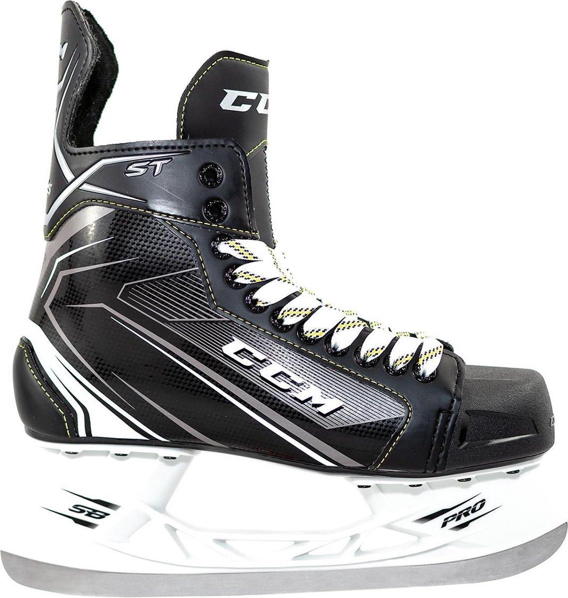 CCM IJshockeyschaatsen TACKS ST SR Zwart 42