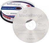 CD-RW MediaRange 700MB 10pcs Spindel 12x